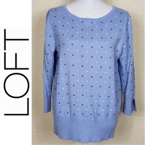 Loft Polka Dot Sweater